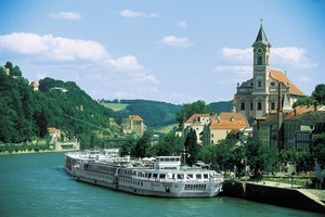 There's plenty to see while cruising along on the River Danube. Photo / Supplied