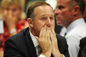 John Key's proposal shows a point of difference from Helen Clark's Labour Government. Photo / Greg Bowker