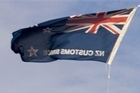 The New Zealand flag at Auckland Airport has been replaced. Photo / Paul Estcourt