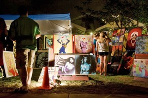 First Fridays Art Walk. Photo / Greater Phoenix Visitor Bureau