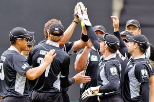 The Black Caps lead the ODI series 1-0. Photo / Getty Images
