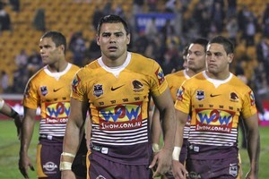 A second team in Brisbane could impact on the Broncos franchise. Photo / Getty Images