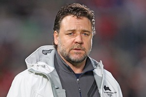 South Sydney owner Russell Crowe. Photo / Getty Images