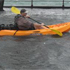 Kayaking on Tamaki Drive. Photo /  Courtney Agate