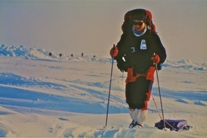 Ivan Trofimoff on his expedition to the North Pole in 1993. Photo / Supplied