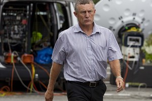 Grey District mayor Tony Kokshorn arrives at the Greymouth District for the coroners inquest. Photo / Simon Baker