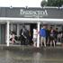 Flooding in Bucklands Beach. Photo /    Peter Heyes