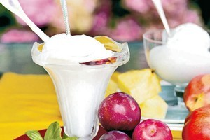 Make the most of seasonal fruits by adding them to icecream recipes.