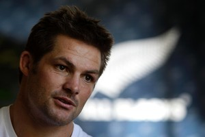 All Black Captain Richie McCaw. Photo / Sarah Ivey