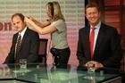 Labour leader contenders David Shearer and David Cunliffe. Photo / Doug Sherring