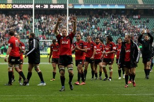 How the Crusaders dealt with devastation and defeated the odds made for one of rugby's great stories. Photo / Getty Images