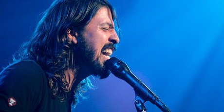 Dave Grohl, of the band Foo Fighters. Photo / AP