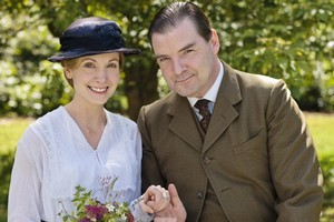 Mr Bates (Brendan Coyle) and his new wife Anna. But there is trouble ahead. Photo / Supplied