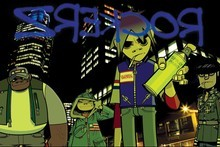 Gorillaz. Photo / Supplied