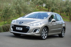 Peugeot's 308 offers new features for less money. Photo / Jacqui Madelin