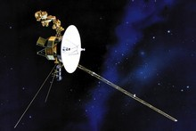 An artist's impression of one of the Voyager space probes. Photo / AP