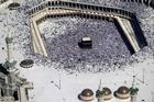 Muslim pilgrims moving around the Kaaba. Photo / AP