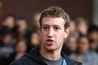 Mark Zuckerberg. Photo / Supplied