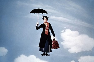 Julie Andrews in a scene from Mary Poppins. If women want to break the glass ceiling, they should insist on subsidies for childcare, says the founder of Cleo. Photo / supplied