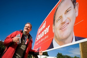 David Shearer's not the answer to all Labour's problems, writes Brian Rudman. Photo / Herald on Sunday