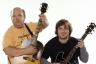 Kyle Gass and Jack Black of Tenacious D. Photo / Supplied