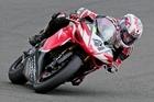 Rhys Holmes has his sights set on winning three major titles this season. Photo / Andy McGechan, BikesportNZ.com