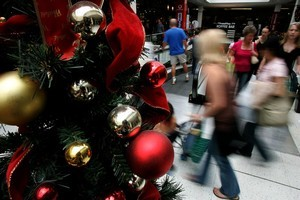 Business is picking up with the onset of Christmas. Photo / Chris Skelton