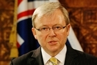 Kevin Rudd. File photo / Greg Bowker