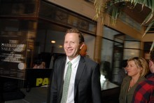 Greens co-leader Russel Norman showed a tendency to wear suits and ties, a difference from the party's past. Photo / Michael Craig 