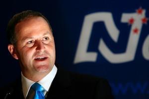 National's John Key. Photo / NZ Herald