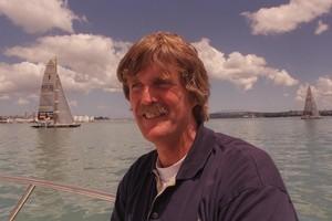 Sir Peter Blake. Photo / Brett Phibbs
