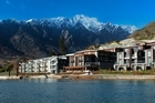 The Hilton Queenstown offers lakefront luxury. Photo / Supplied