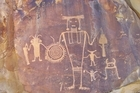 Pictograph carvings are among the sights to behold at Dinosaur National Monument in Utah. Photo / US National Park Service