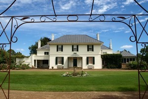 Brickendon Homestead is still inhabited by the sixth and seventh William Archers. Photo / Pamela Wade