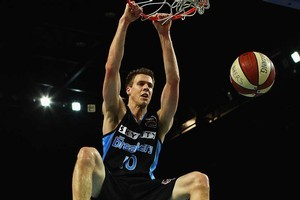 Tom Abercrombie has improved all-round but dramatically so in three-point shooting. Photo / Getty Images