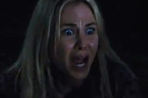 Anna Hutchison in the trailer for The Cabin in the Woods. Photo / YouTube