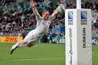 Chris Ashton in action for England at the World Cup. Photo / Brett Phibbs