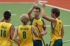 Australia eased by Great Britain 4-1. Photo / Getty Images