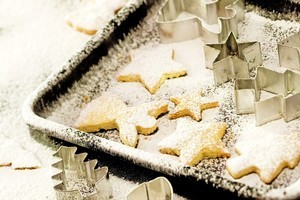 With sugar and spice these shortbreads will be sure to bring about good cheer this Christmas. Photo / Babiche Martens