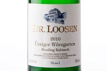 Dr Loosen Urziger Wurzgarten Riesling Kabinett, Mosel 2010 $33.99. Photo / Babiche Martens