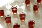 The 'Drunken Tower' game encourages people to drink to excess. Photo / Thinkstock