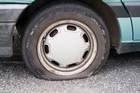 Dunedin residents aren't impressed after someone went on a tyre slashing spree. Photo / Thinkstock