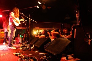 Kurt Vile performs at the Kings Arms in Auckland. Photo / Jenna Todd