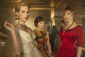 Somehow the stylish fashion of the women in TV show Mad Men doesn't appeal to the younger set. Photo / Supplied
