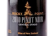 Rocky Point Central Otago Pinot Noir 2010 $28. Photo / Babiche Martens