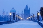 Prague's beauty is only intensified when December rolls around and the snow falls. Photo / Thinkstock