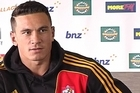 Sonny Bill Williams discusses his decisions to stay in New Zealand and play for the Chiefs.