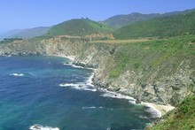 The winding highway affords beautiful views of the Pacific Ocean. Photo / Thinkstock