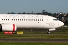 New Zealand-based Pacific Blue and long-haul offshoot V Australia are now operating under the Virgin Australia banner. Photo / Creative Commons image by Wikimedia user YSSYguy
