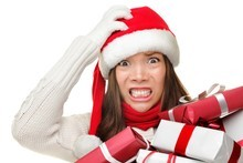 Men say women get too stressed over Christmas.